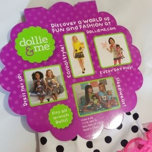 Dollie & Me Matching Sets - EUC Dollie & Me Girls Shimmery Ice Cream Cone Set